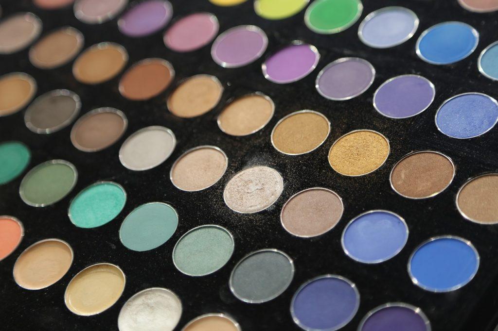 Palette colori make-up