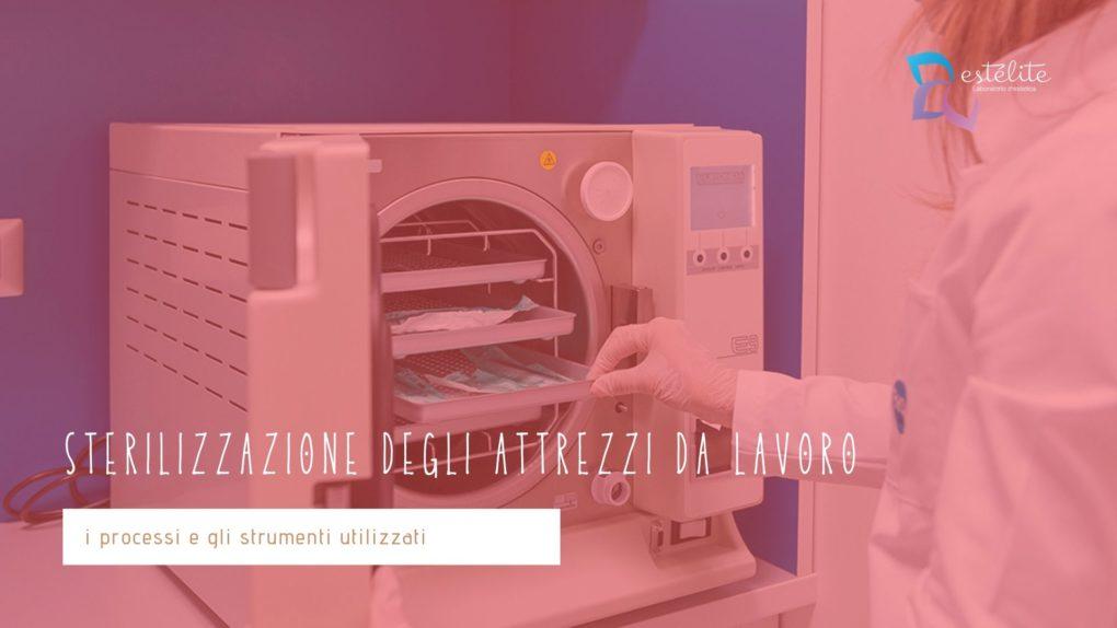 Sterilizzazione attrezzi estetica