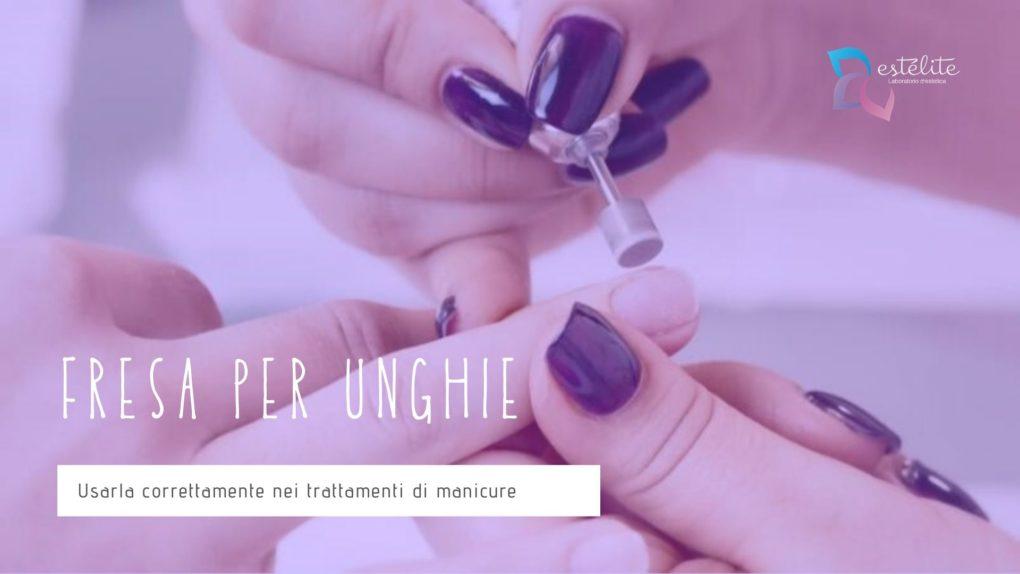 fresa per manicure