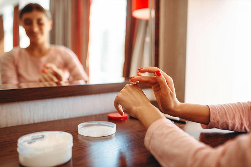 Idratazione delle mani
